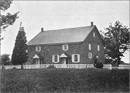Friends Meeting House, Calvert, Maryland.