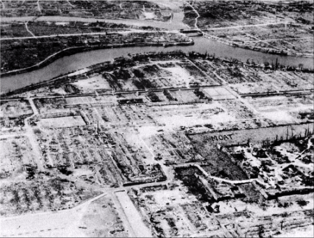 Hiroshima Military District.—1945.