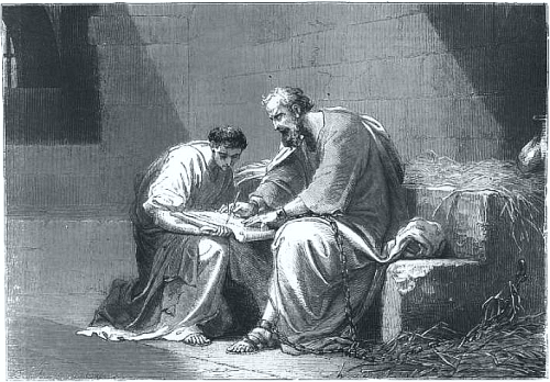 Paul Writes Epistle From Prison.
