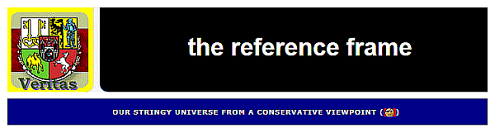 The Reference Frame—Our stringy Universe from a conservative viewpoint.