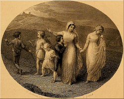 TChristiana, Mercy, and the Children.