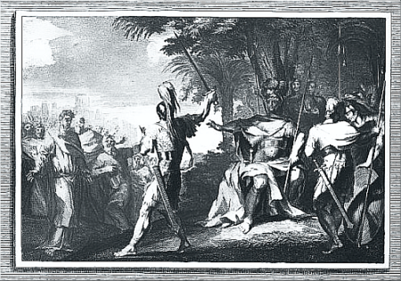 Slaughter of the Priests of Nob.
