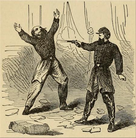 Encounter Between Generals Nelson and Davis.