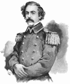 Robert E. Lee, Lt. Col., Second Cavalry, Ft. Brown, Texas, 1860.