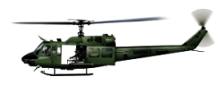 UH-1D Huey.