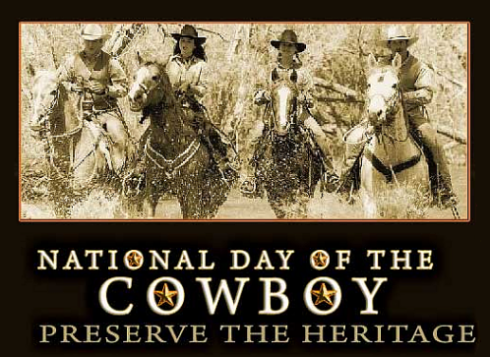 National Day of the Cowboy.