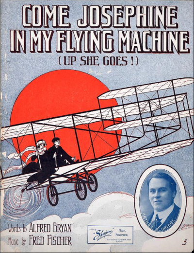 Come Josephine In My Flying Machine Sheet Music—Smithsonian.