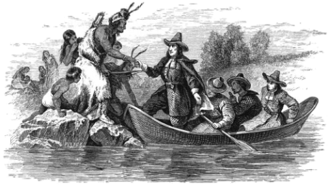 The Landing of Roger Williams.
