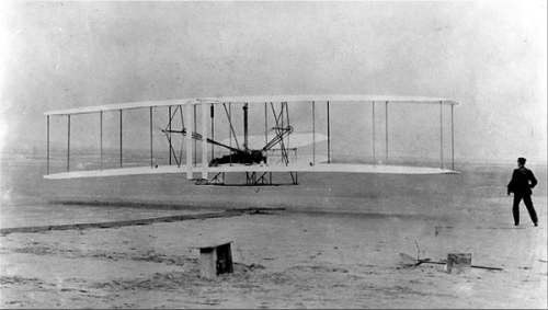 Wright Flier—First Flight.