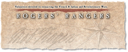 Click to visit the Rogers' Rangers Re-enactment Group.