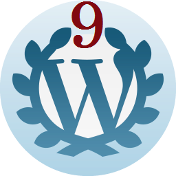 9 Years—On Wordpress since August 25th, 2009.