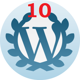 10 Years—On Wordpress since August 25th, 2009.
